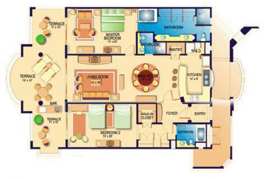 Villa La Estancia Los Cabos Timeshare Rentals 2 Bedroom