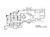 Villa La Estancia Penthouse #3603 floorplan