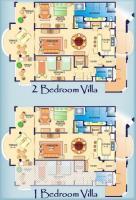 1 BDRM /2Bath floorplan