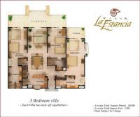 Villa 3402 floorplan