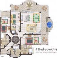 3BR Penthouse Villa 3401 floorplan