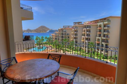 7th floor view from Villa 1707 balcony