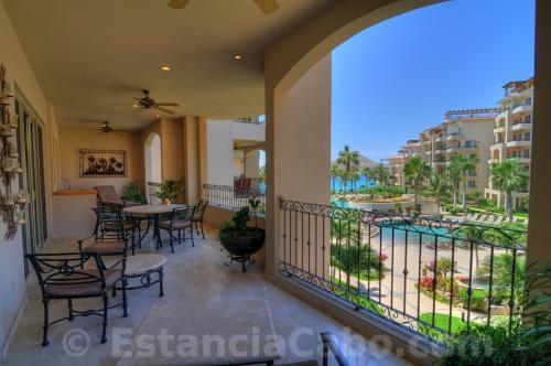 Private Veranda With View