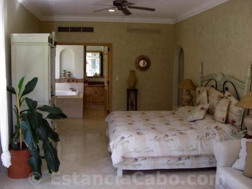 Master bedroom in unit 1303.