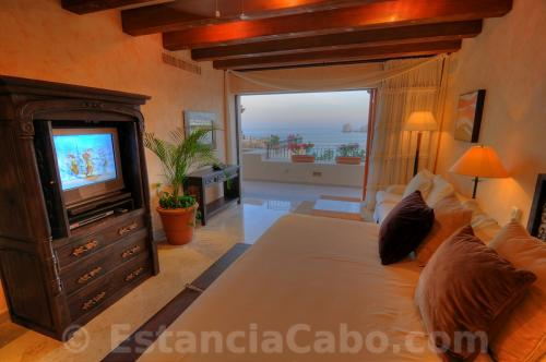 Villa La Estancia Penthouse 2804 Master Bedroom With View
