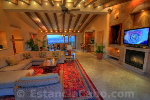 Villa La Estancia Penthouse 2804 Living Room With View