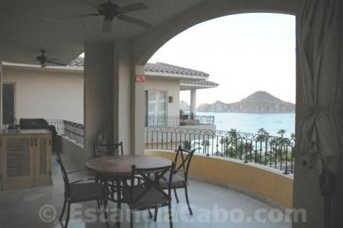 Private balcony with access from all suites. Includes wet bar & BBQ
