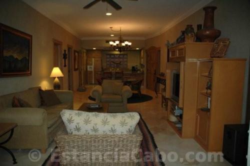 Villa La Estancia #1604 Main Living/Dining/Kitchen