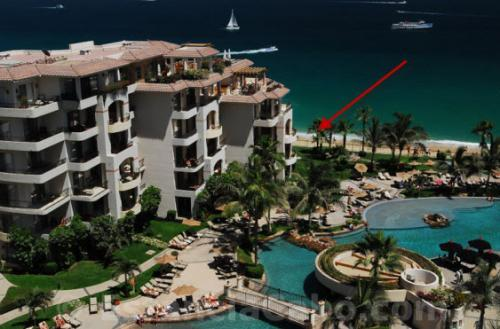 Ocean Front Villa #1201 Location