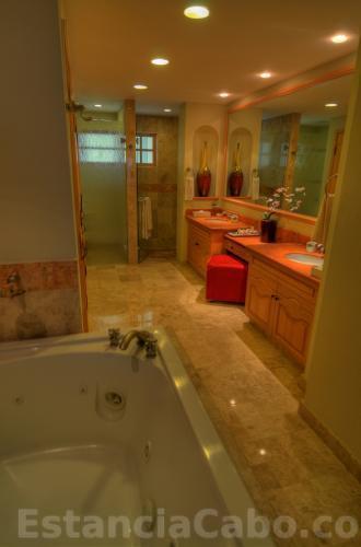 Master Suite Bathroom With Jacuzzi Tub