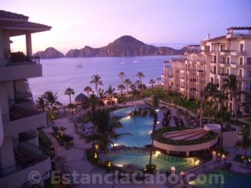 Villa La Estancia #1604 twilight view