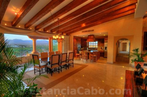 Villa La Estancia Penthouse 2804 Dining Room With View