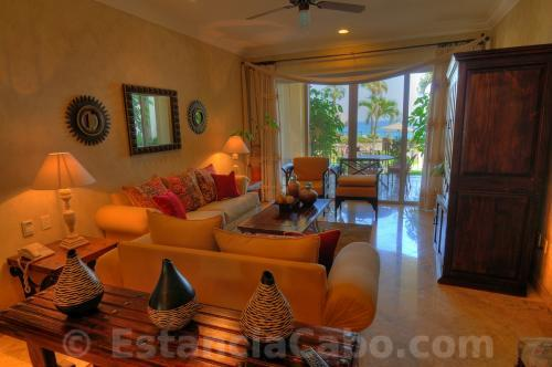 Spacious Living Room Accommodations