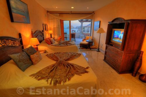 Villa La Estancia Penthouse 2804 Third Bedroom With View