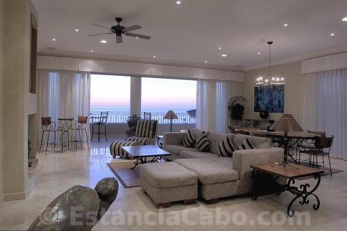 Spacious Living Room of Penthouse 3704